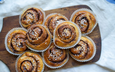 Delicious Swedish cinnamon buns