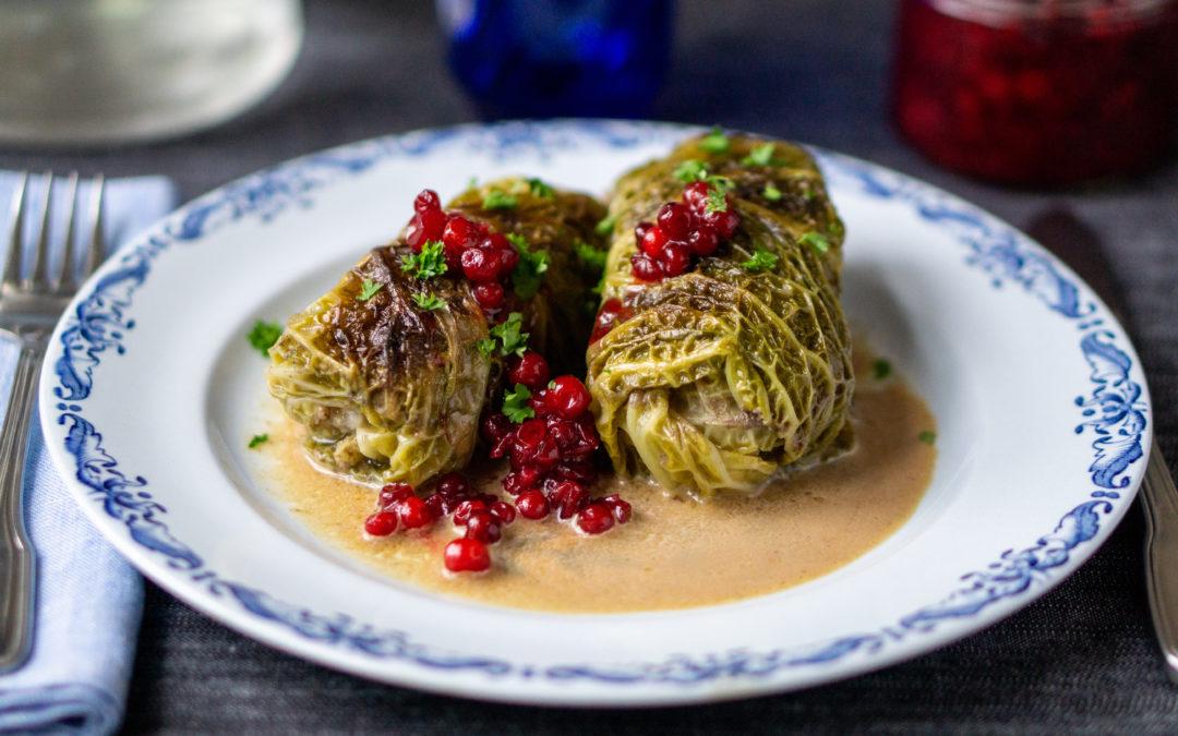 Kåldolmar—Swedish cabbage rolls from the Ottoman empire