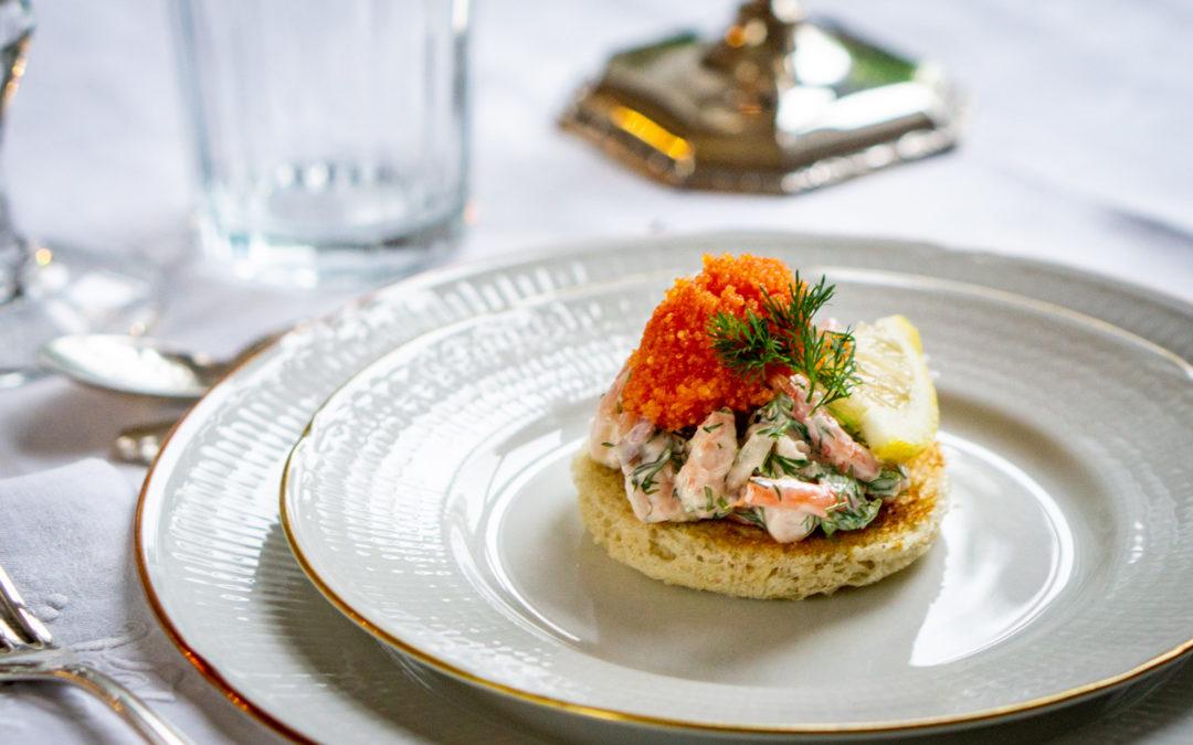 Toast Skagen — Sweden's favorite appetizer?