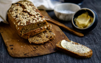 Quick and flavorful Swedish sour milk bread