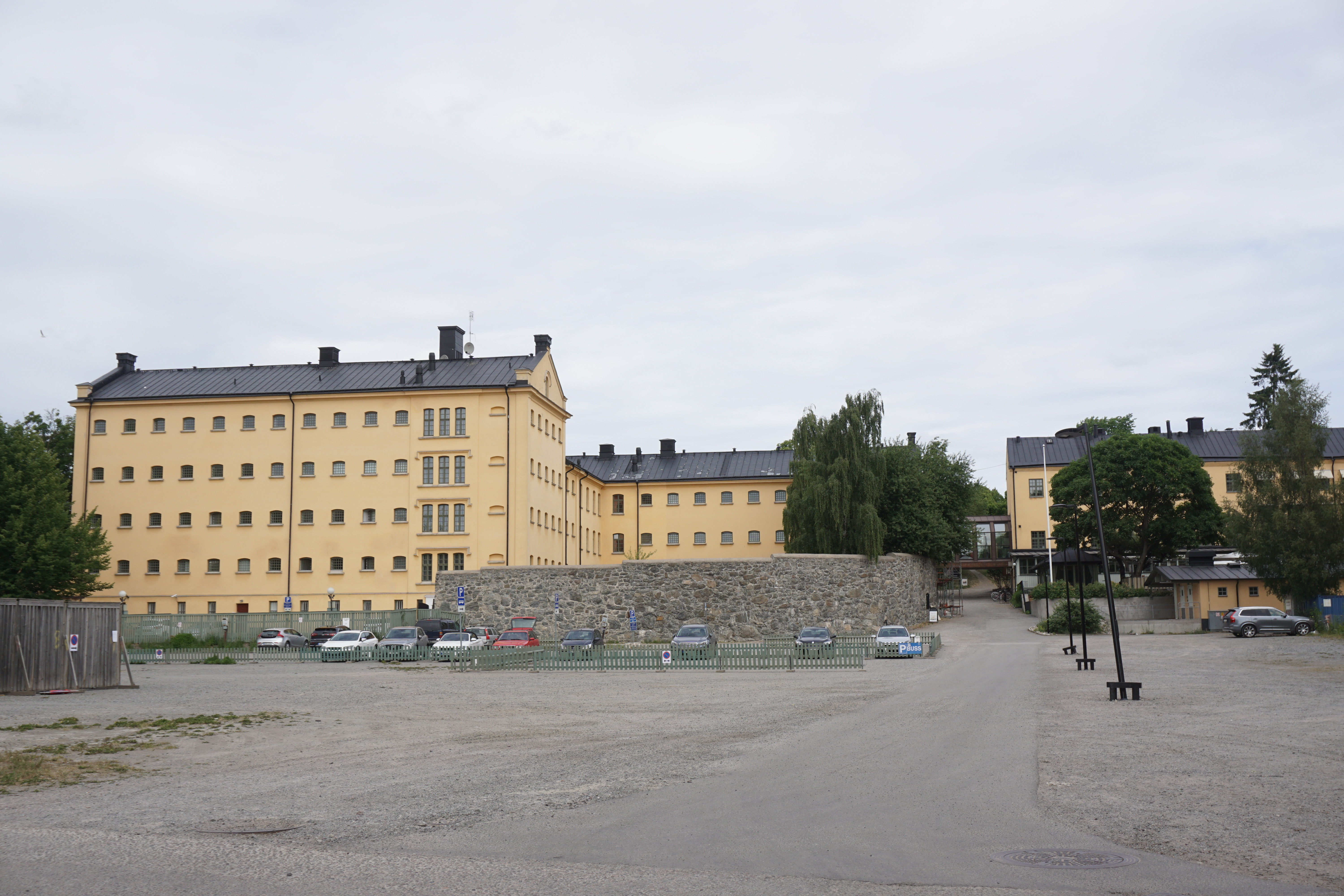 large parts of the former prison remains and have been turned into långholmen hotel and hostel