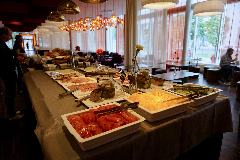 breakfast table at motel l hammarby sjöstad