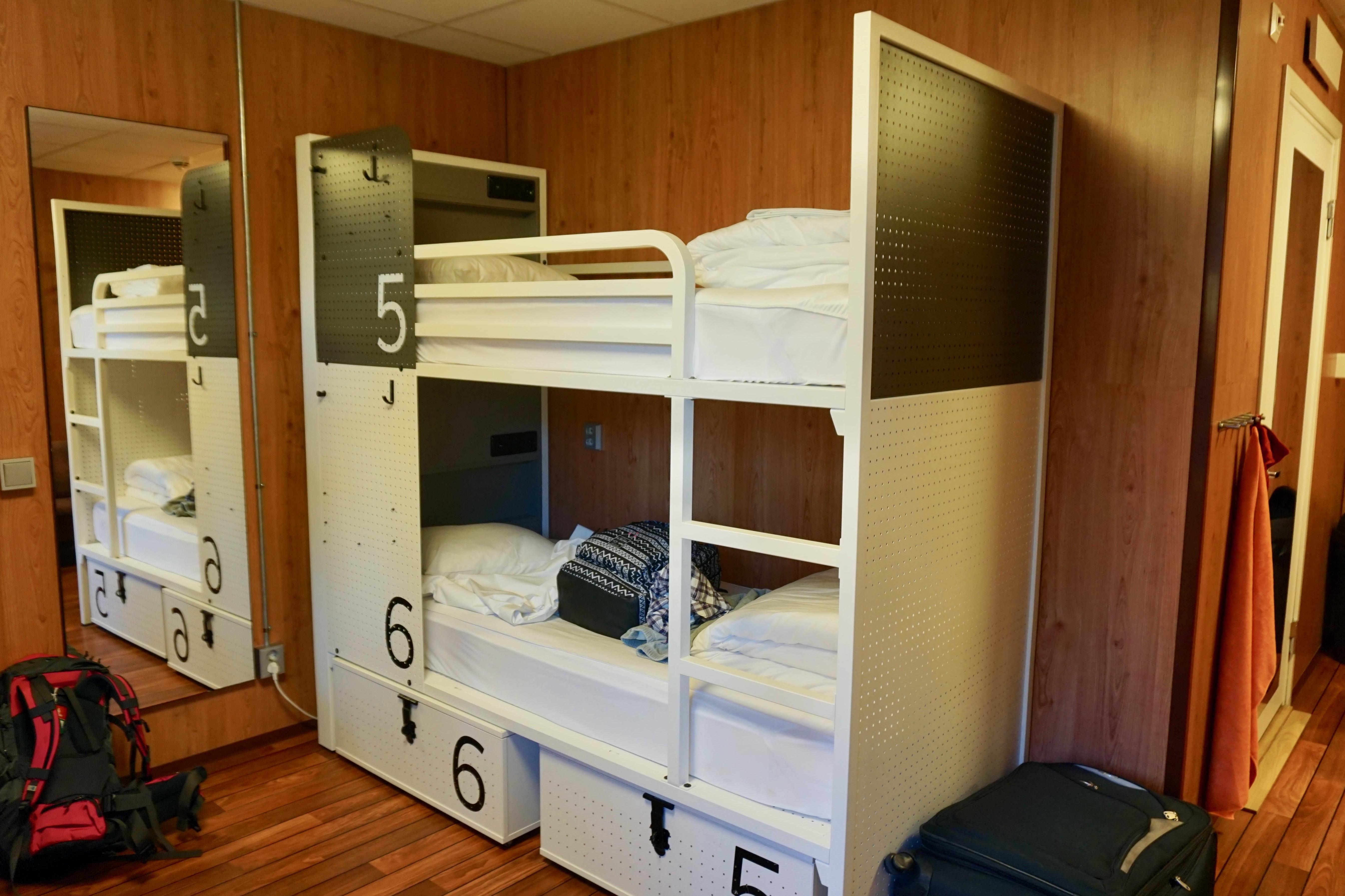 bunkbed for two, hostel generator stockholm